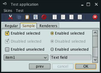 تعلم كيفية إنشاء تطبيقات ذات وجهة رسومية جذابة فى الجافا باستخدام المكتبة Substance look&feel Gemini1