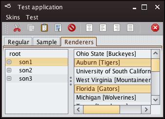 تعلم كيفية إنشاء تطبيقات ذات وجهة رسومية جذابة فى الجافا باستخدام المكتبة Substance look&feel Mariner2