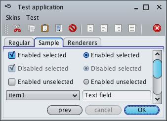 تعلم كيفية إنشاء تطبيقات ذات وجهة رسومية جذابة فى الجافا باستخدام المكتبة Substance look&feel Mistaqua1