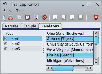 تعلم كيفية إنشاء تطبيقات ذات وجهة رسومية جذابة فى الجافا باستخدام المكتبة Substance look&feel Mistaqua2
