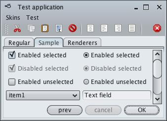 تعلم كيفية إنشاء تطبيقات ذات وجهة رسومية جذابة فى الجافا باستخدام المكتبة Substance look&feel Mistsilver1