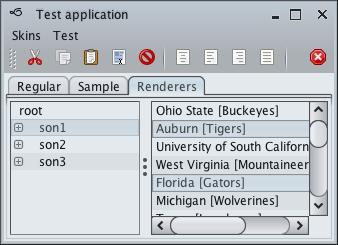 تعلم كيفية إنشاء تطبيقات ذات وجهة رسومية جذابة فى الجافا باستخدام المكتبة Substance look&feel Mistsilver2