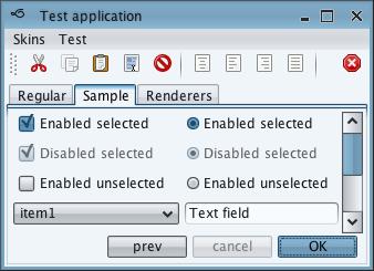 تعلم كيفية إنشاء تطبيقات ذات وجهة رسومية جذابة فى الجافا باستخدام المكتبة Substance look&feel Moderate1