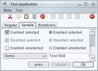 تعلم كيفية إنشاء تطبيقات ذات وجهة رسومية جذابة فى الجافا باستخدام المكتبة Substance look&feel Nebula1