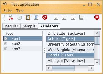 تعلم كيفية إنشاء تطبيقات ذات وجهة رسومية جذابة فى الجافا باستخدام المكتبة Substance look&feel Nebulabrickwall2