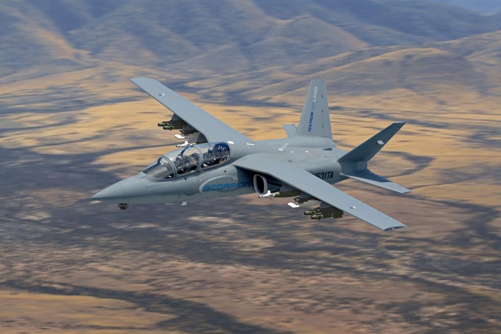"""""""Scorpion"""" (avión de combate y reconocimiento USA) - Página 2 High_Res_Armed_Scorpion-FinalFarnborough_6-19-14-1024x683"""