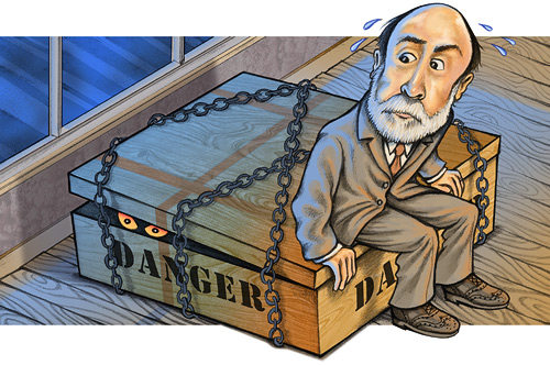 GUERRA DE SEXOS Bernanke-on-box