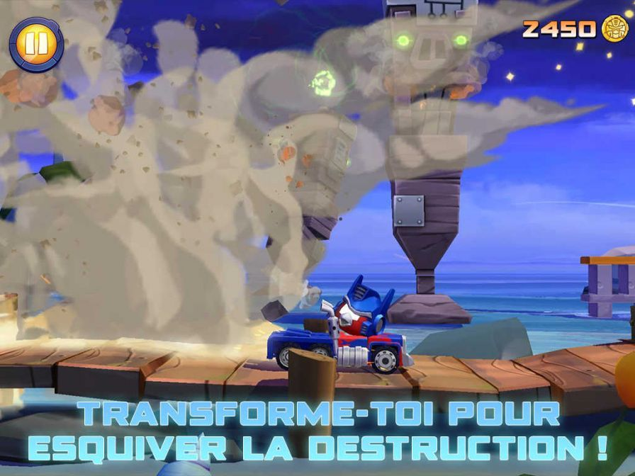 [Jeu Mobile] Transformers - Angry Birds, Forged to Fight, Earth Wars, Bumblebee Overdrive Angry-birds-transformers-4-iphone-ipad