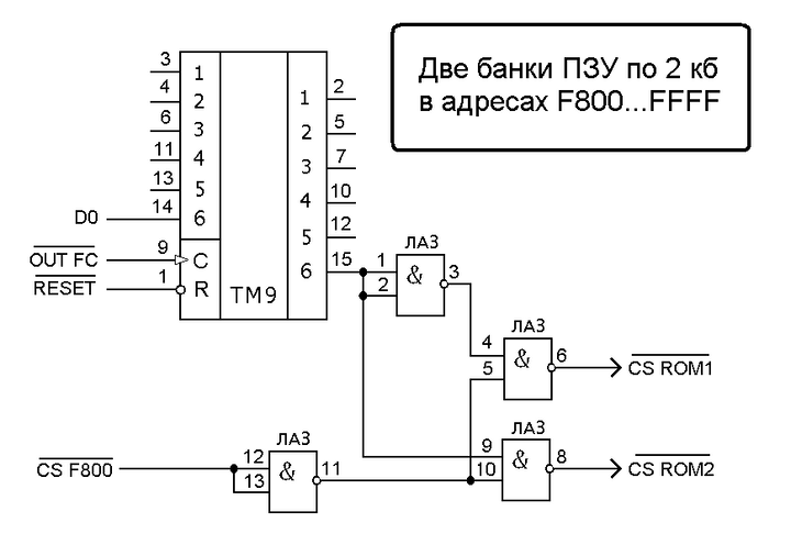 Орион-128: Полезные доработки ПЭВМ 2ROMF800.1559894760