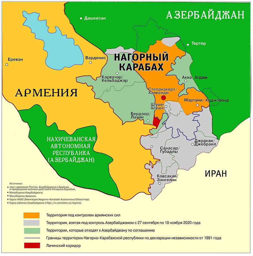 Деокупація Нагірного Карабаху Азербайджану!  KARABAHh.1611503452