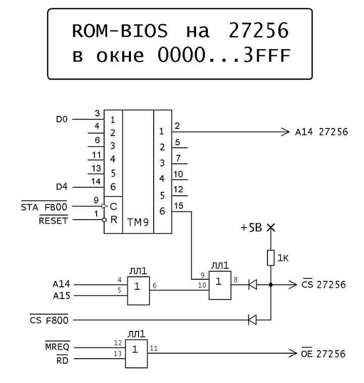 Орион-128: Полезные доработки ПЭВМ ROM-BIOSna27256.1560110588