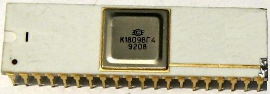 Радио-86РК: внешние видео-адаптеры K1809vg4.1612256518