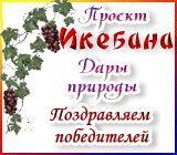 """Проект """"Икебана"""" Дары природы. Поздравляем победителей Pozdravlenie.1596576411"""