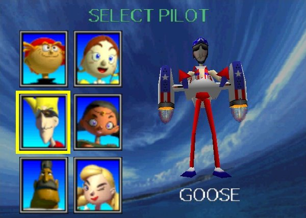 Dreamcasting for a Video Game Movie Pilotwings-64-goose-evel-knievel-rocket-belt