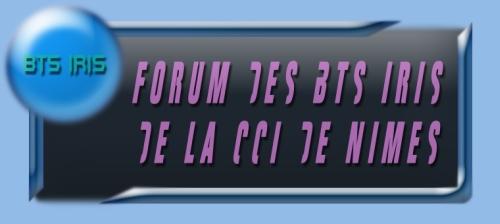 Forum des IRIS de la CCI de Nimes