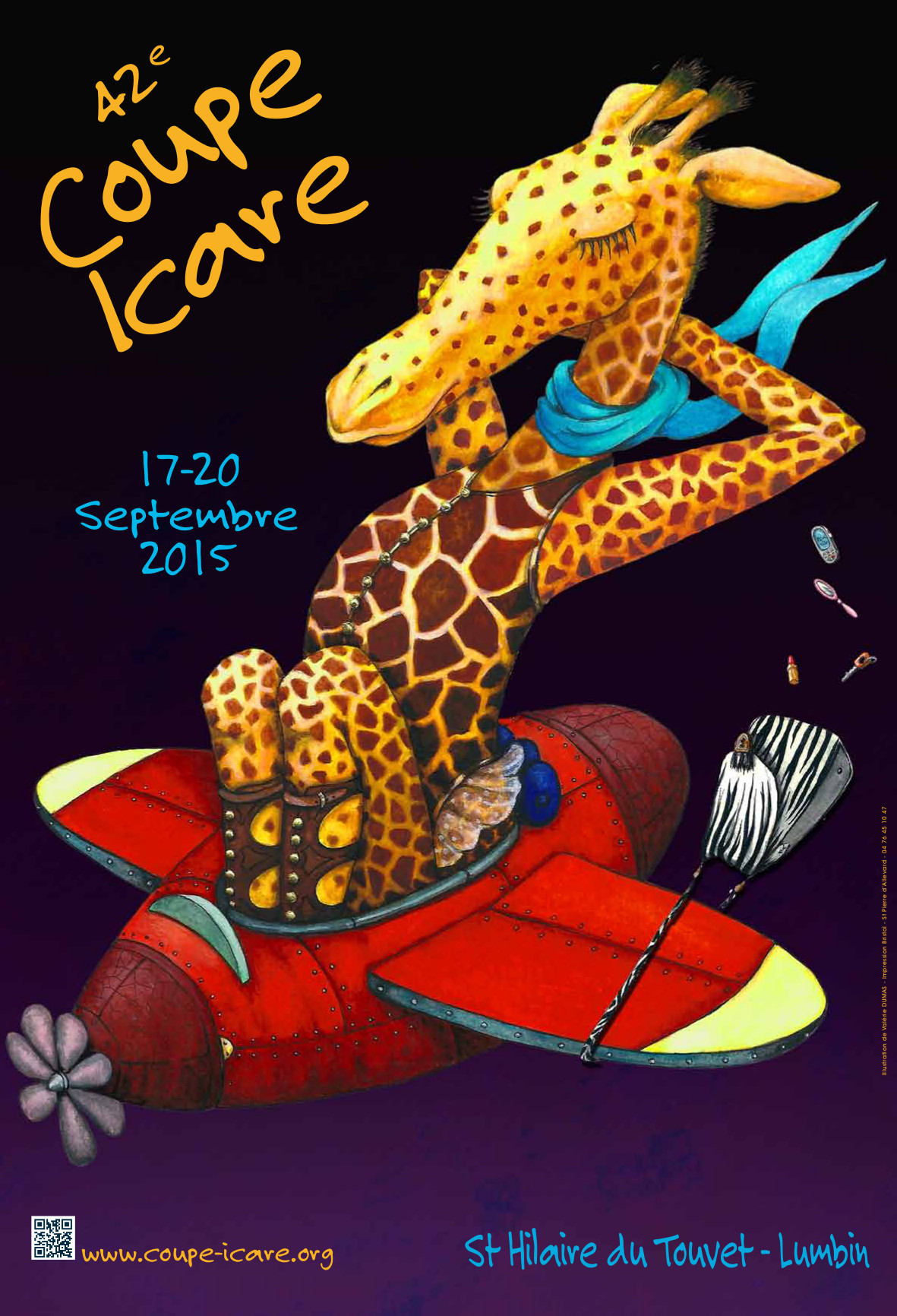 Coupe Icare 2015 : le Vol Libre en fête du 17 au 20 sept Visuel-affiche-coupe2015