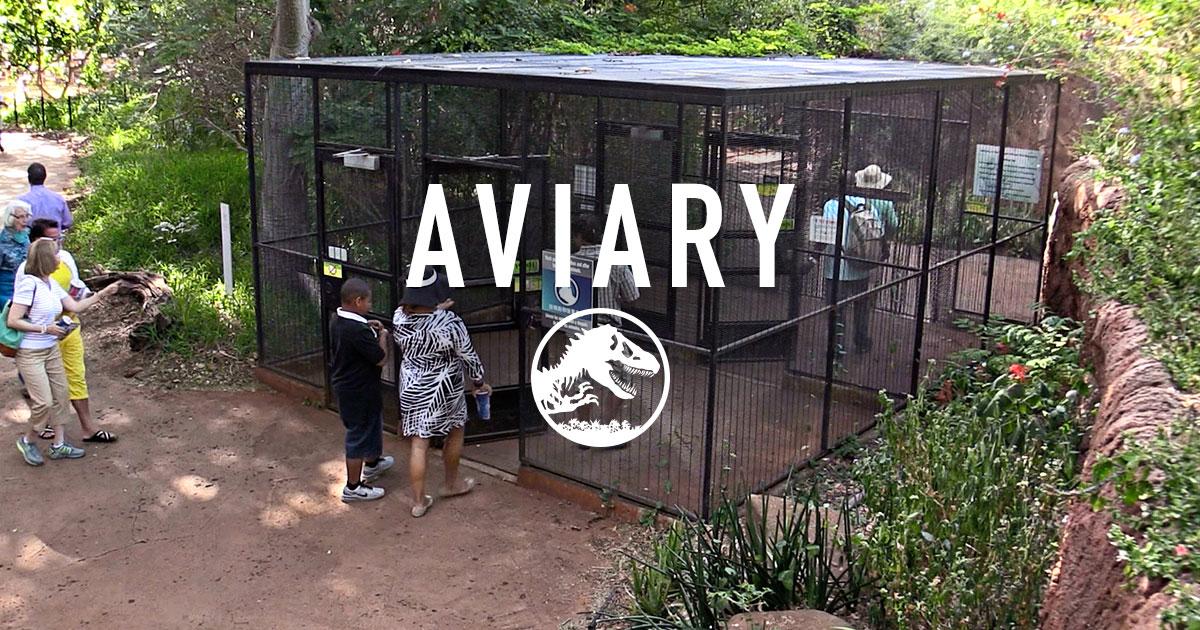 Isla Nublar website not working? Jurassic-world-aviary-share