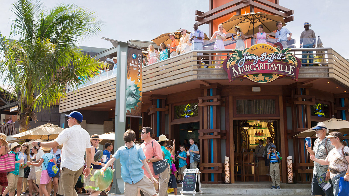 Isla Nublar website not working? Margaritaville-exterior