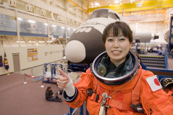 une Japonaise s'envolera vers l'ISS en 2010 Jsc2010e017743_l