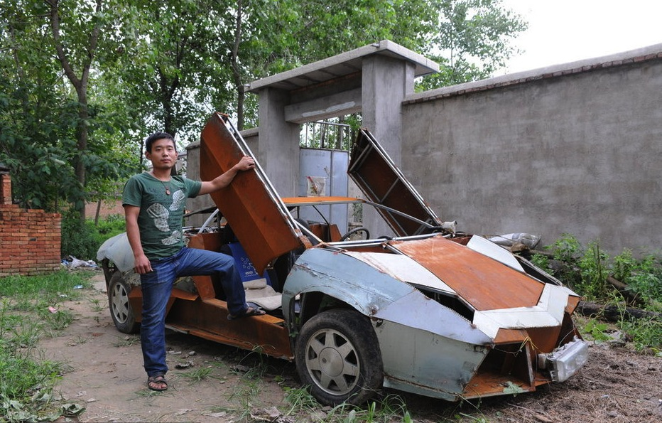 Lamborhigni reventon made in china a partir de un Vw Santana Lamborghini-Reventon-replica-china-01