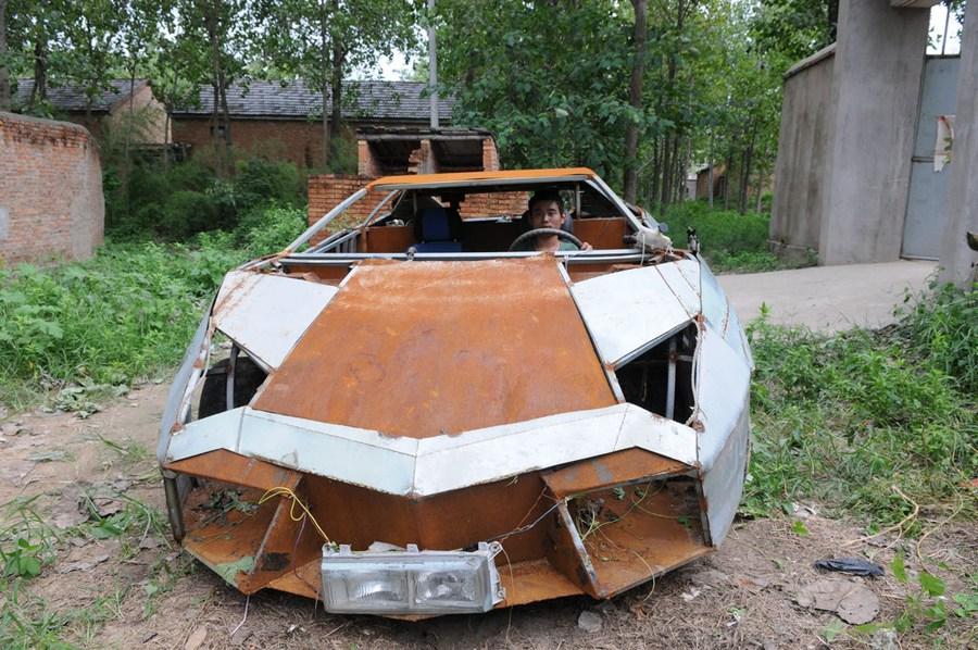 Lamborhigni reventon made in china a partir de un Vw Santana Lamborghini-Reventon-replica-china-04