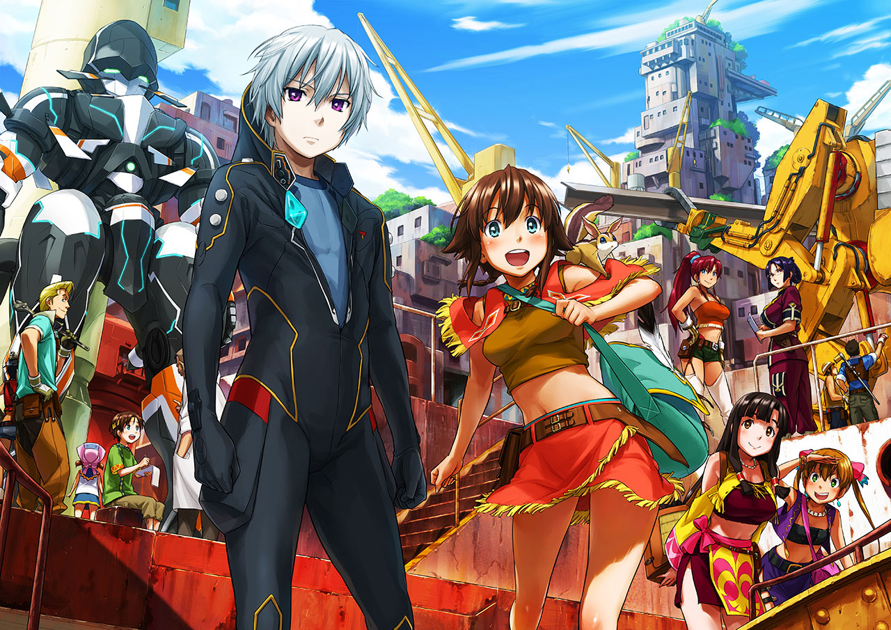 [Anime]Suisei no Gargantia (Gargantia on the Verdurous Planet) 717524830_orig