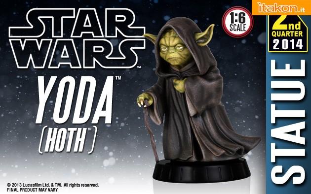 [Gentle Giant] Star Wars: Yoda Hoth Statue Yoda-Hoth-Statue-1
