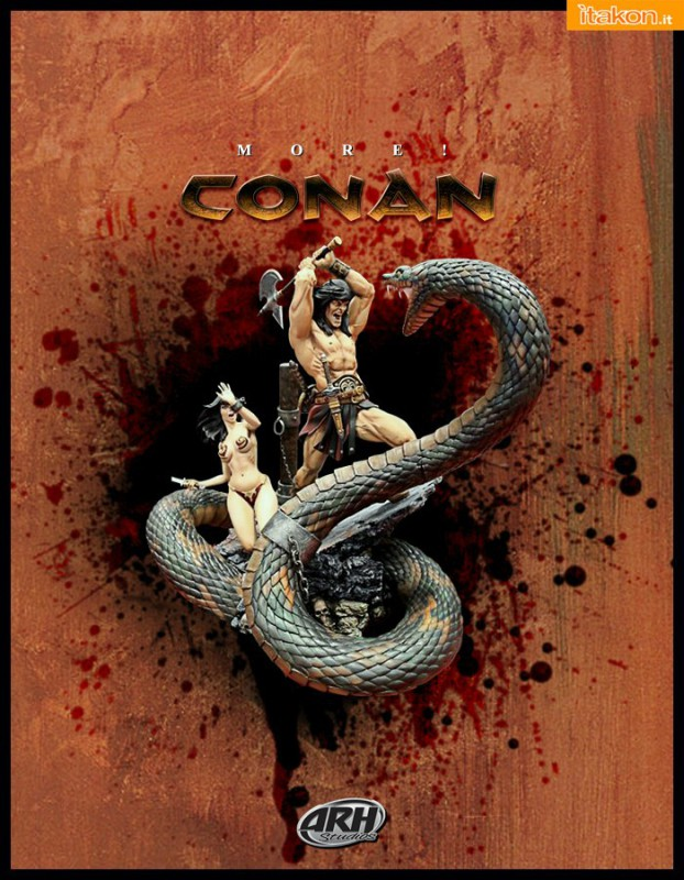 [ARH Studios] Conan Sacrifice - 1/4 scale Diorama - Página 2 Conan-Sacrifice-diorama-14-di-ARH-Studios-4-622x800