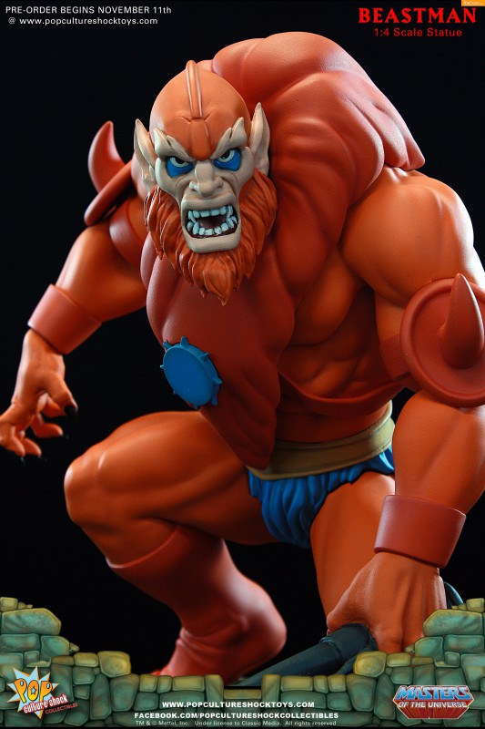 [Pop Culture Shock] Masters of the Universe: Beastman 1:4 Statue 0-533x800