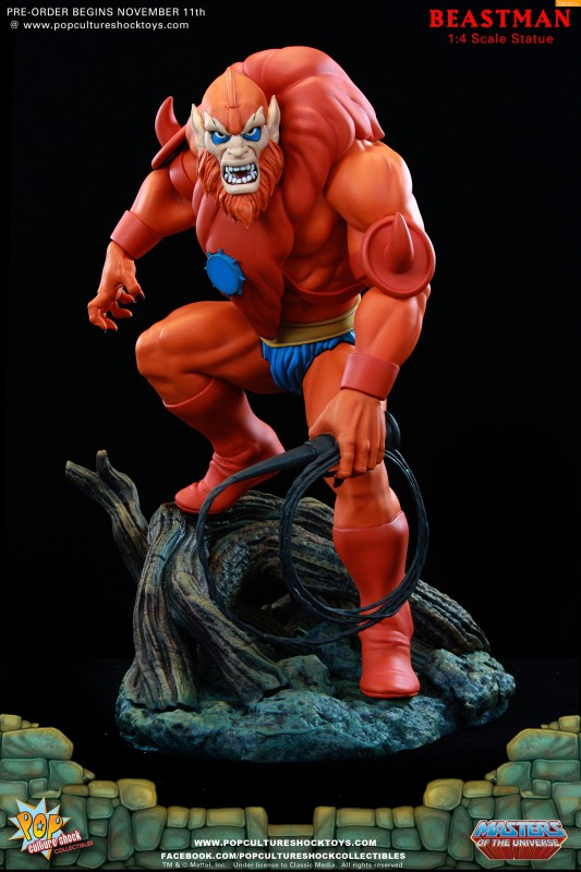 [Pop Culture Shock] Masters of the Universe: Beastman 1:4 Statue 1-533x800