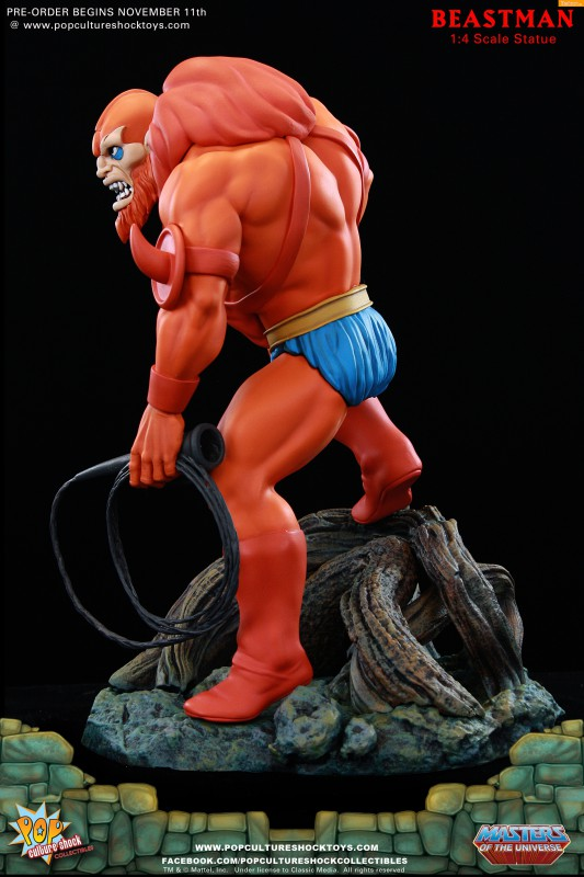 [Pop Culture Shock] Masters of the Universe: Beastman 1:4 Statue 10-533x800