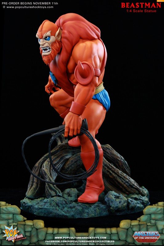 [Pop Culture Shock] Masters of the Universe: Beastman 1:4 Statue 11-533x800
