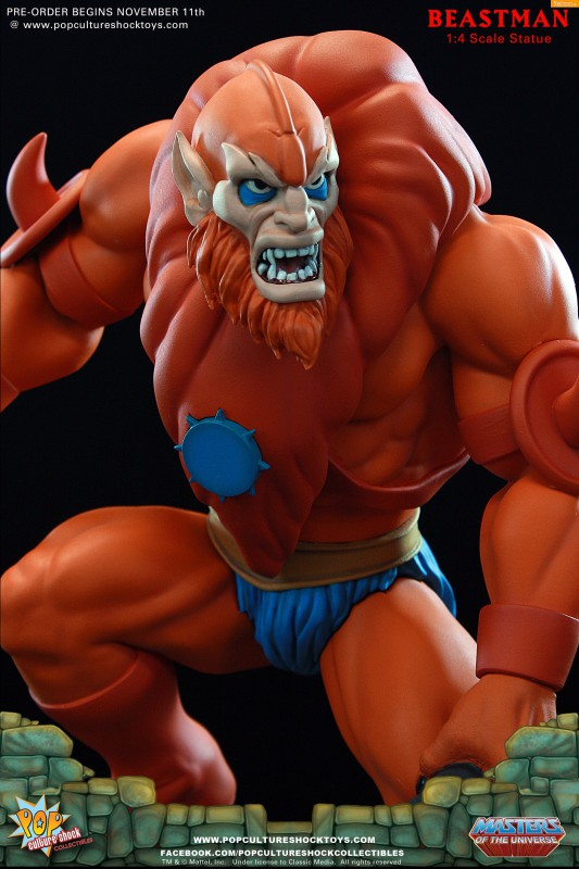 [Pop Culture Shock] Masters of the Universe: Beastman 1:4 Statue 12-533x800