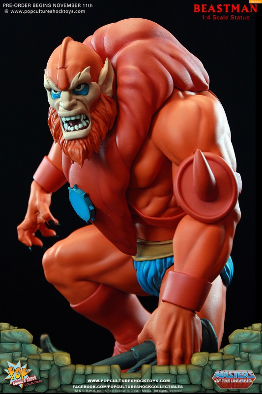 [Pop Culture Shock] Masters of the Universe: Beastman 1:4 Statue 13-533x800
