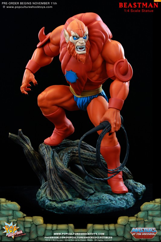 [Pop Culture Shock] Masters of the Universe: Beastman 1:4 Statue 2-533x800