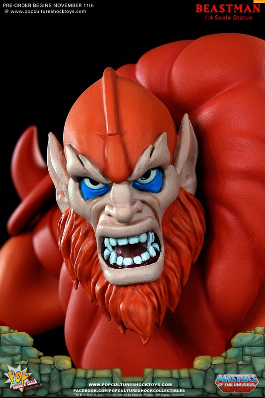 [Pop Culture Shock] Masters of the Universe: Beastman 1:4 Statue 21-533x800