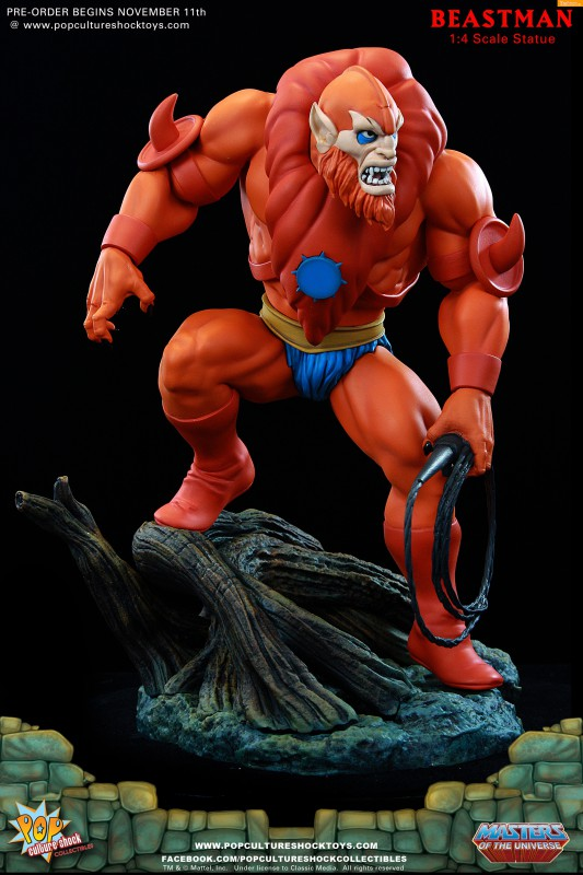 [Pop Culture Shock] Masters of the Universe: Beastman 1:4 Statue 3-533x800