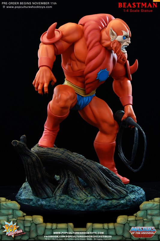 [Pop Culture Shock] Masters of the Universe: Beastman 1:4 Statue 5-533x800