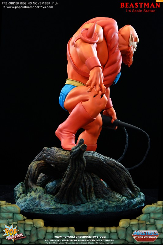[Pop Culture Shock] Masters of the Universe: Beastman 1:4 Statue 6-533x800