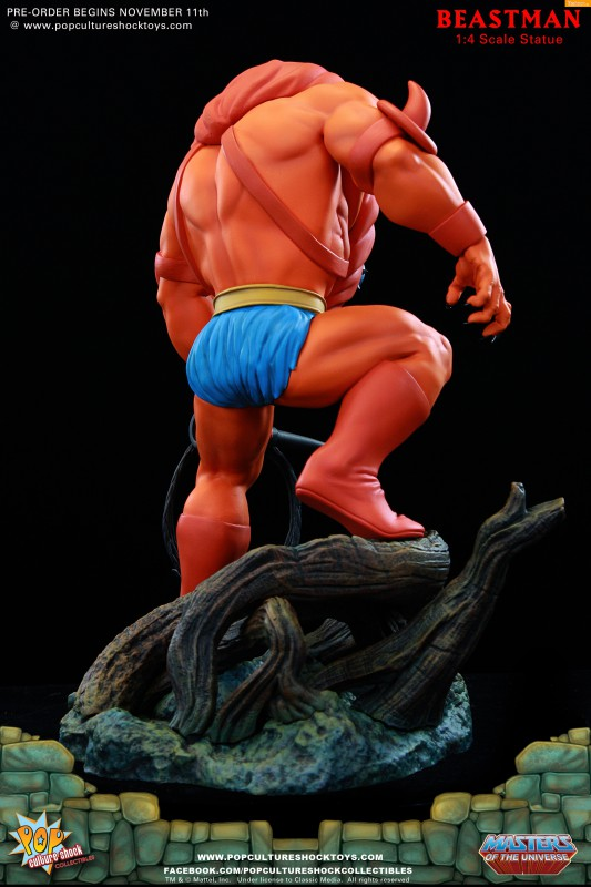 [Pop Culture Shock] Masters of the Universe: Beastman 1:4 Statue 8-533x800
