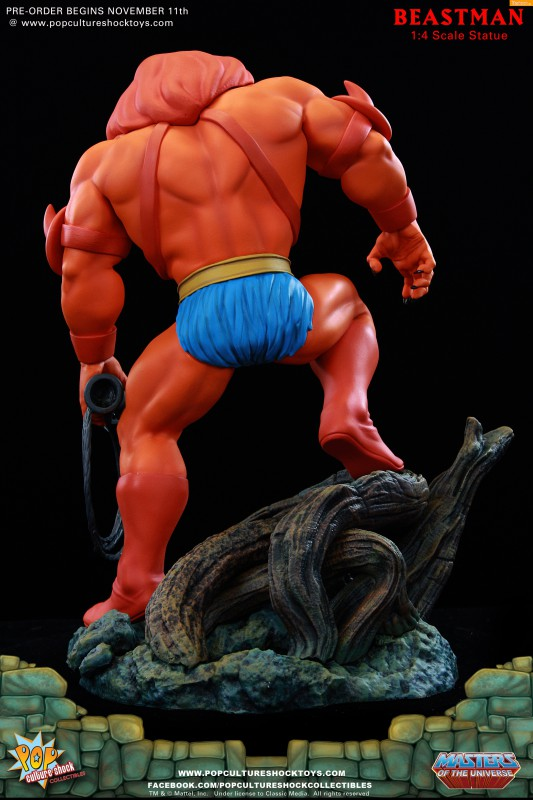 [Pop Culture Shock] Masters of the Universe: Beastman 1:4 Statue 9-533x800