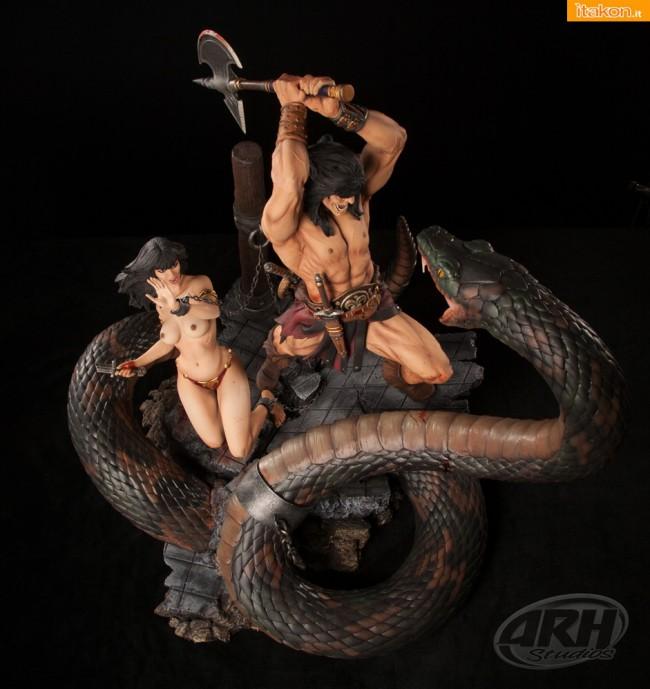 [ARH Studios] Conan Sacrifice - 1/4 scale Diorama - Página 2 Conan-The-Sacrifice-14-diorama-di-ARH-Studios-8-650x689