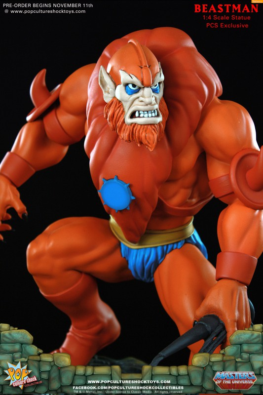 [Pop Culture Shock] Masters of the Universe: Beastman 1:4 Statue A11-533x800