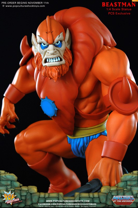 [Pop Culture Shock] Masters of the Universe: Beastman 1:4 Statue A14-533x800