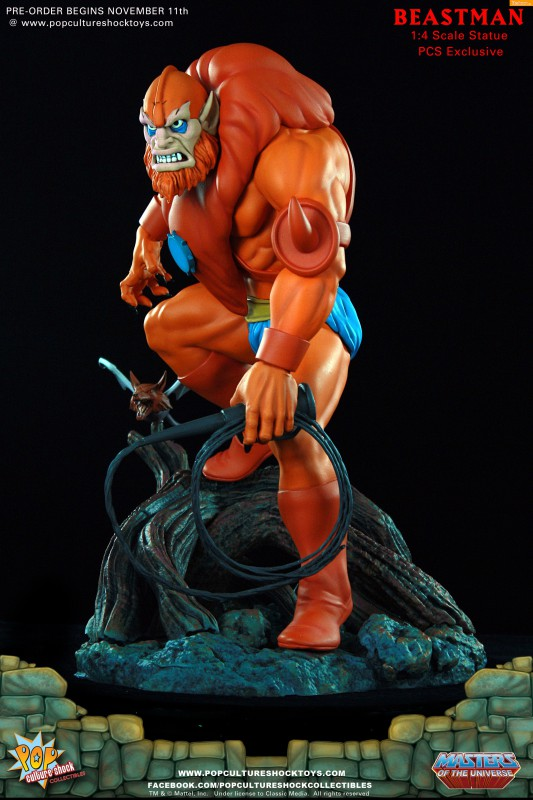 [Pop Culture Shock] Masters of the Universe: Beastman 1:4 Statue A23-533x800