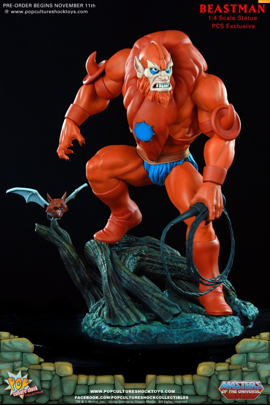 [Pop Culture Shock] Masters of the Universe: Beastman 1:4 Statue A26-533x800