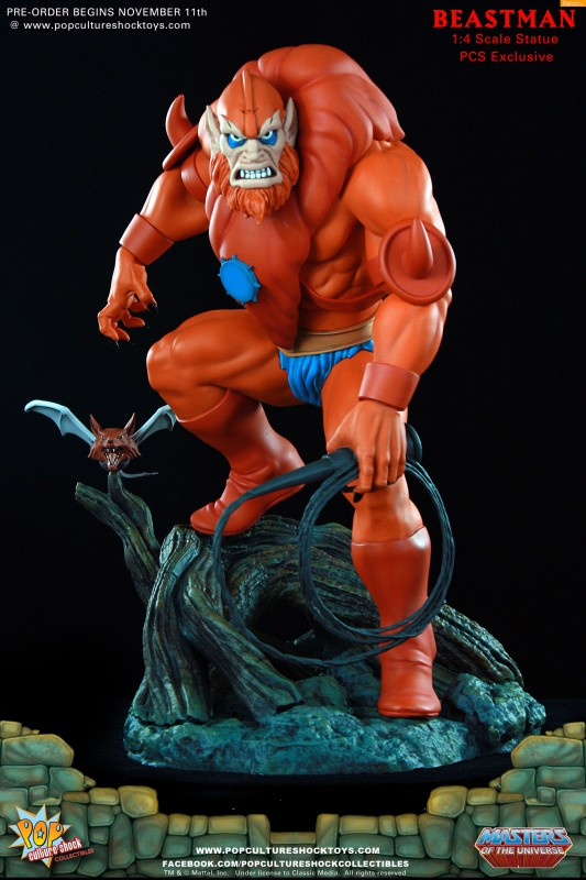 [Pop Culture Shock] Masters of the Universe: Beastman 1:4 Statue A31-533x800
