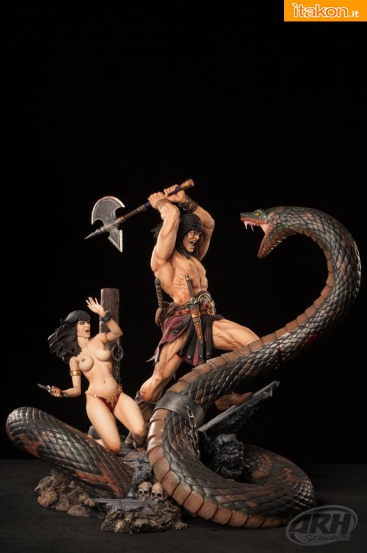 [ARH Studios] Conan Sacrifice - 1/4 scale Diorama - Página 2 D151