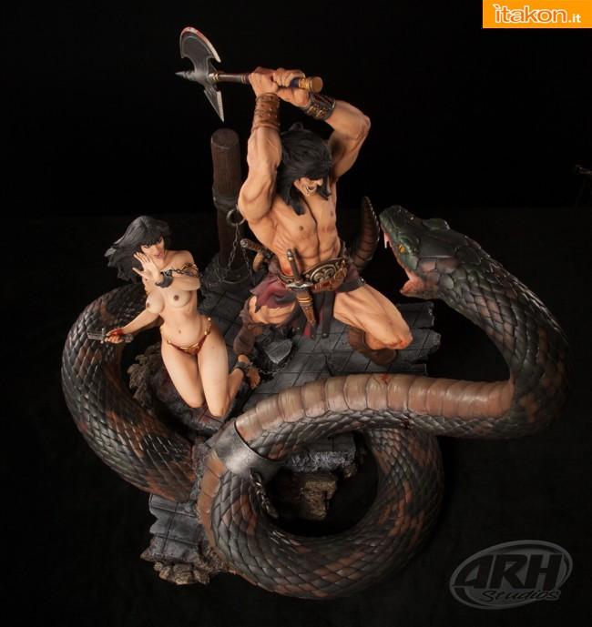 [ARH Studios] Conan Sacrifice - 1/4 scale Diorama - Página 2 D161
