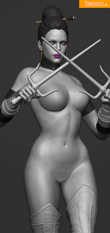 [Pop Culture Shock] Mortal Kombat Klassic - Mileena 1/4 scale Fffffff1-379x800